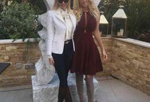 Amanda and Victoria