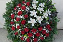 temetési koszorú