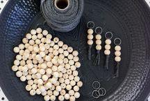 ξύλινες χαντρες