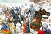 1400-tal / Diverse beklädnader, uniformer och rustningar
