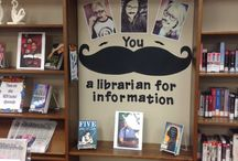 You Mustache a Librarian about the Winter Reading Club 2014 / Pins about mustaches for our Winter Reading Club!