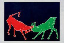La bagarre des Chiens - Stéphan Barron / La bagarre des chiens - Diptyque 210 cm x 160 cm STEPHAN BARRON - 1985 http://www.technoromanticism.com/galerie/peintures/bagarre_des_chiens_1w.jpg Exposition #Ostrale Dresde 2010 http://ow.ly/i/4q5M5 http://ow.ly/t25EJ