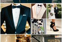 { Black Tie Wedding }