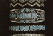 Turquoise Jewelry Colages