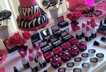 decoração maquiagem