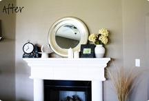Mantel / by Andrea Vickers-Sivret