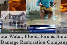 Home Restoration / Home restoration tips and ideas for water damage, fire damage, mold removal and water extraction