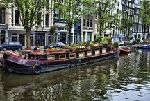 Dutch Barges