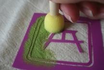 Printing Stencils & Stamps / by Lynn
