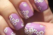 Nail art / The sky is the limit