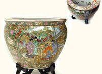 Rose Medallion Porcelains from Asia / Rose Medallion Jars, Vases and Bowls Decor