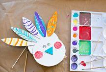 kid crafts - fall