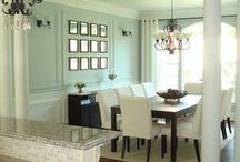 Dining Room Ideas / Decorating inspiration for when we have a house!