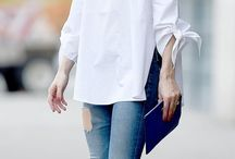 white shirt outfit ideas
