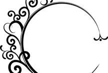 Swirls and frames