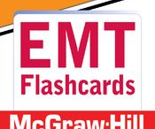 """McGraw-Hill Education EMT Flashcards and Paramedic Flashcards / McGraw-Hill Education's """"EMT Certification Exam Flashcards"""" and """"Paramedic Certification Exam Flashcards"""" mobile apps offer a succinct, comprehensive, and portable review of the essential concepts students need to remember for their certification exam."""