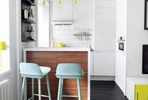 Small Spaces / Ideas on how to make the most of a small apartment or small home.