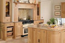 Petworth inframe kitchen / Petworth natural oak inframe kitchen from Units Online http://www.unitsonline.co.uk/petworth-kitchen