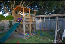 DIY Swing Set/Fort / by Colleen Wildasin