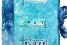 tracy fox: Hand Made Books / using hand dyed fabrics from the Colour Collection by tracy fox