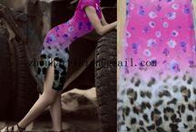 fashion fabrics to beautiful dresses / supplier