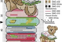 Cross stitch - bookmarks / Patterns for bookmarks
