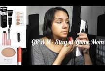 Makeup Tutorial / Stay at home mom makeup video.
