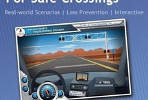 Resources for Professional Drivers! / Rail Safety ideas, tips, and more for professional truck and bus drivers.