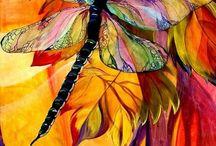 DRAGONFLY & HUMBIRD