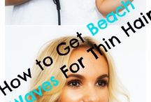 Tricks for thin hair