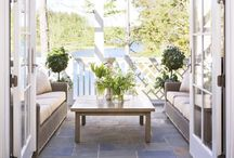 Decks and Porches / Inspiration for outdoor living spaces including decks, porches and patios.
