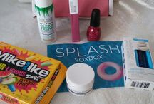MY SPLASH VOXBOX / Thanks to @Influenter for sending me these products complimentary/free for testing purposes.