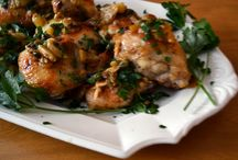 Main Course Dishes or Secondi / Italian main courses including poultry, meats, and vegetarian