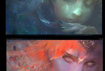 STYLE: Digital Paintings
