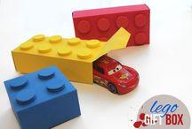 Knutselen / Lego doosjes