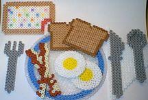 Hama Beads - Food