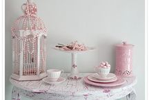 Pink Pink Pink & More Pink / Such a beautiful color, Can be main color or used to accent. Babies to mature ladies and even men can wear it. Perfect shabby chic color. / by Stephanie Falcon