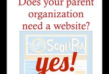 PTA Website Design Ideas / things to include on your PTA PTO Booster Club Web Page