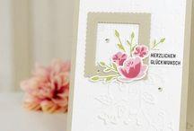 Karten für verschiedene Anlässe/Cards for different occasions