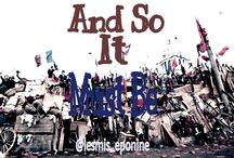 And So It Must Be (Les Mis Fanfic)