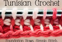 Tunisian Crochet & Others