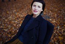 Стилист Арина Полшкова / Автор самых женственных образов нашего сайта. Настоящая петербурженка.