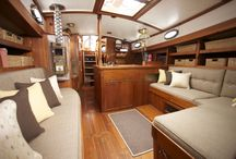 Sailboat interior