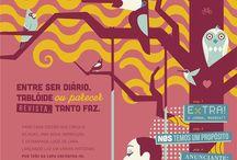 Capas BRASA | BRASA covers / Conheça as capas do jornal BRASA / Meet all BRASA covers