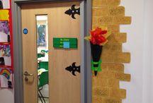 New classroom display