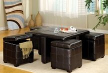 'round the Table / All sorts of tables. Budget-friendly tables for home decor and dining.
