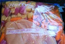 freezer/slow cooker food