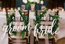 Calligraphy Wedding Details / Our favorite details we have seen!