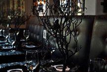 Bordeaux and Gothic Wedding Theme