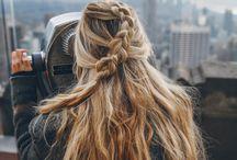 opsætninger af hår
